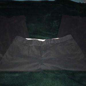 GAP Pants - Gap capris black
